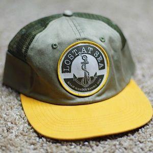 Yellow & Green Men's Cap